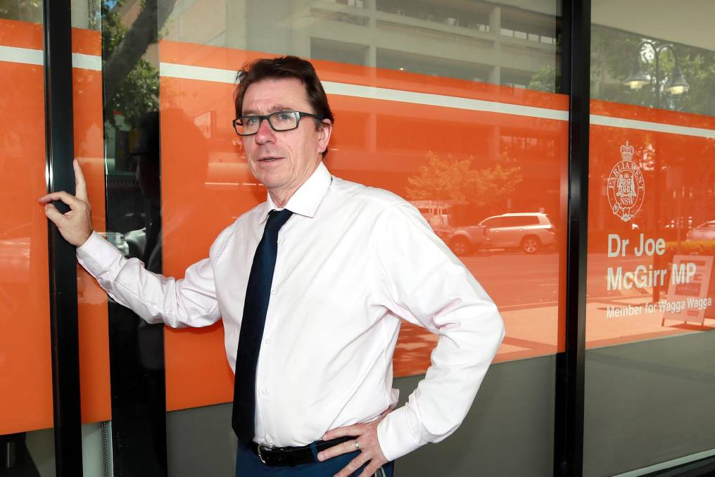 NOT ENOUGH: Wagga MP Joe McGirr says he will keep pushing to have less-complex autopsies performed at the Base Hospital.