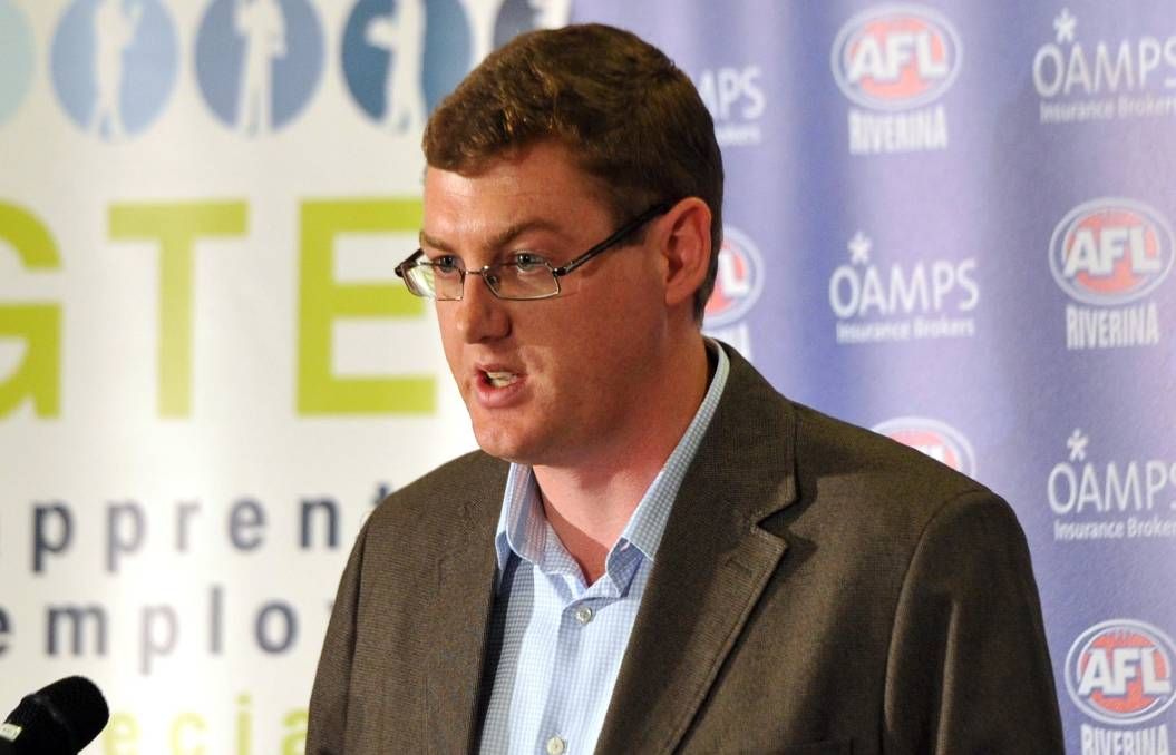 DECISIONS MADE: AFL Riverina chairman Michael Irons.