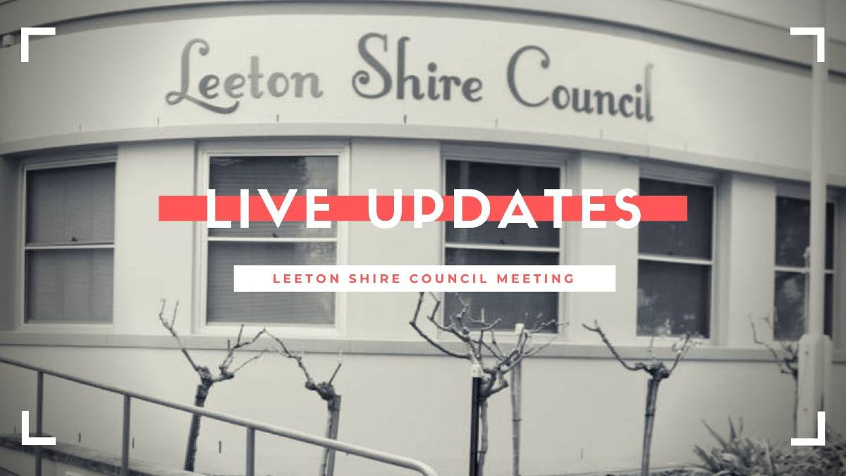 As it happens: Leeton Shire Council's September meeting | LIVE COVERAGE