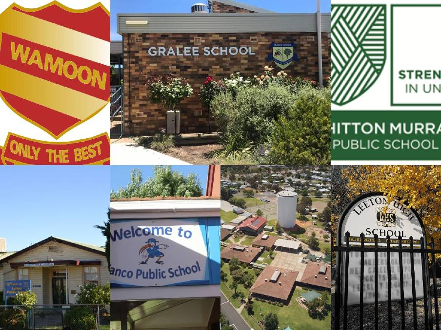 Leeton shire is home to many public schools.