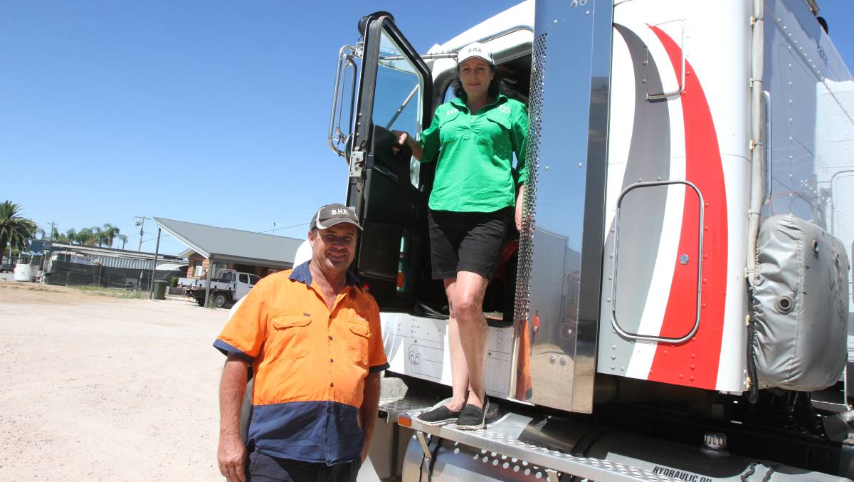 HELP: Mick Stanworth and Sandi Jones are on the hunt for donations of hay for the 2021 run. Photo: Talia Pattison