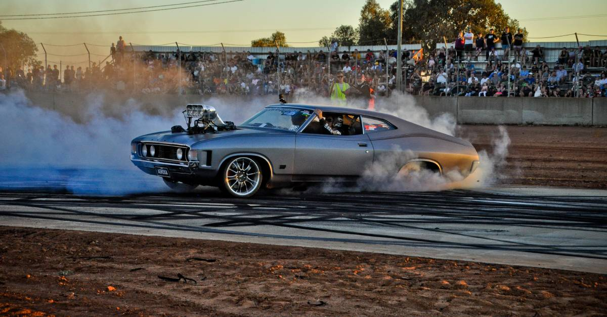 BACK IN ACTION: The Brobenah Burnouts competition will be held this weekend, with around 500 spectators allowed at the event. Photo: Gabrielle Napier