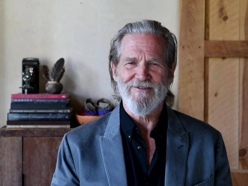 US film star Jeff Bridges has been diagnosed with lymphoma.