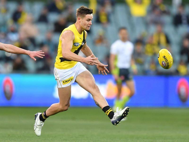 Jayden Short claimed the Jack Dyer Medal as Richmond's best and fairest for 2020.