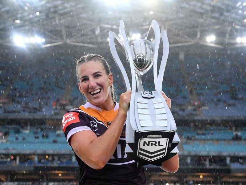 Ali Brigginshaw will lead Queensland's challenge for a first Women's State of Origin win.