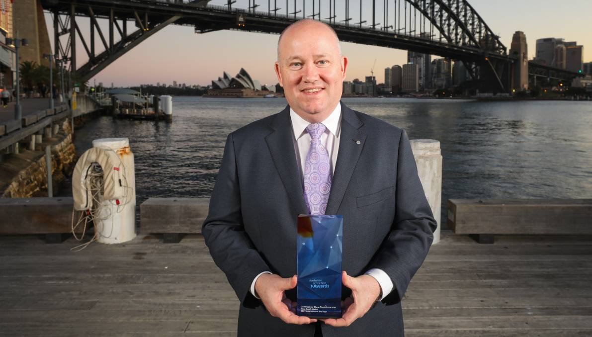 DEDICATED: Duffys Forest Rural Fire Brigade member and former NSW RFS Commissioner, Shane Fitzsimmons, was named as the NSW 2021 Australian of the Year. Picture: Salty Dingo